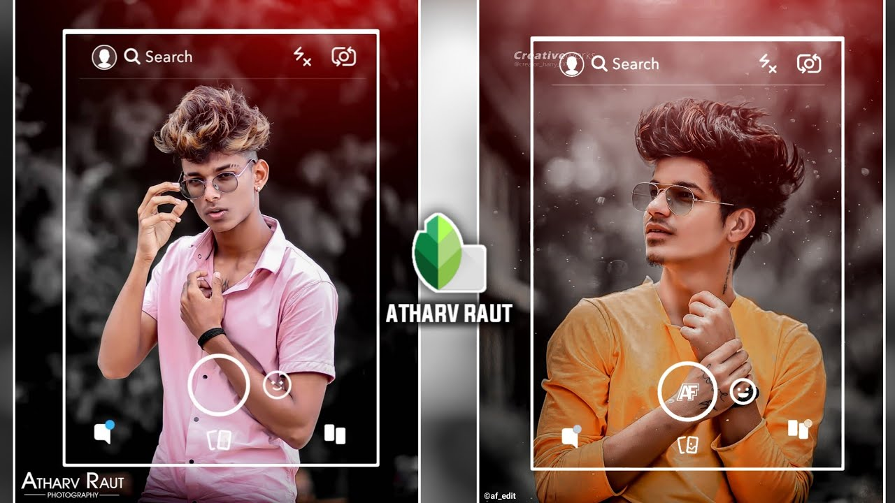 Snapseed Instagram Profile Photo Editing | Snapseed Instagram Viral Photo Editing - AF EDIT