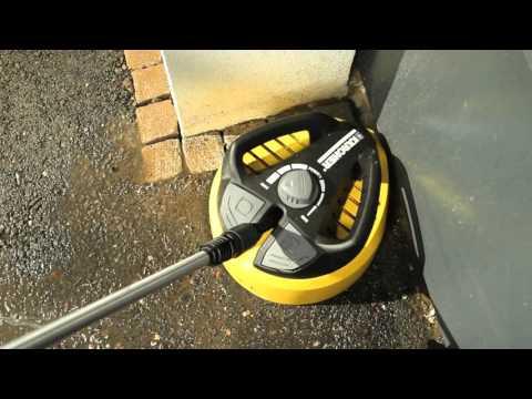 Καθαρισμός πλακόστρωτου με πλυστικό Karcher