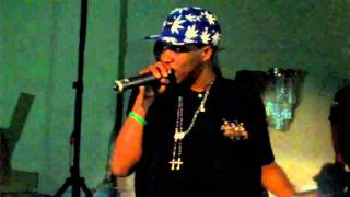 Curren$y live in Sacramento performs Glass House, Life Under The Scope