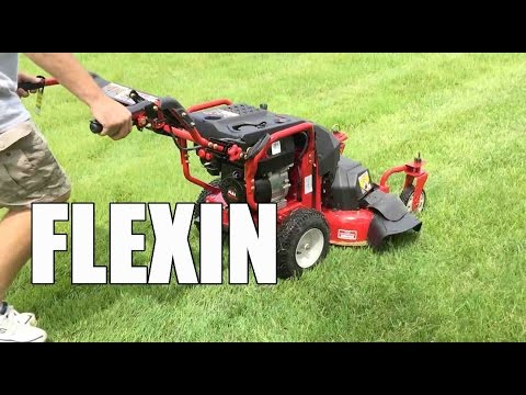 Troy Bilt Flex Mower and Blower Review