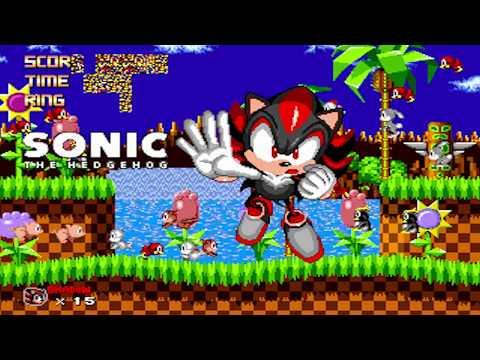 Sonic 1 Megamix V4: Scrap Brain Zone & Final Zone + Good Ending (Super Shadow, 720p/60fps)