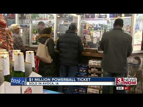 $1 million Powerball ticket sold in Iowa