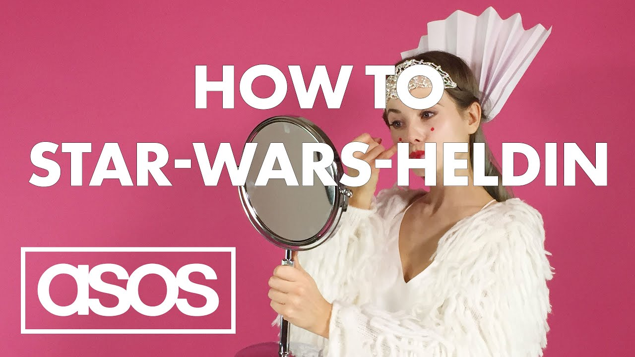 STAR WARS Frisur Make Up Kostüm So easy wirst du zu Leia Padmé