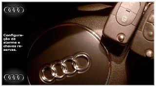 Audi A3 / Golf - Como configurar alarme chave reserva