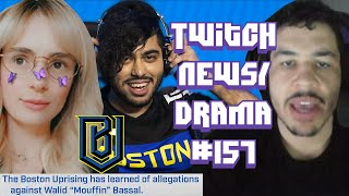 OWL Mouffin Predator Allegations, Shadowbanning, Sodapoppin On Kaceytron - Twitch Drama/News #157