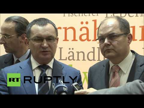 Germany: Despite the sanctions Russia and Germany boost agricultural work