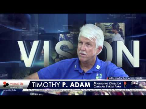 Vision - Timothy Adam on Cayman27 Sunday 18th at 6pm - Promo