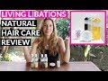 REVIEW: Living Libations - Natural Hair Care Products