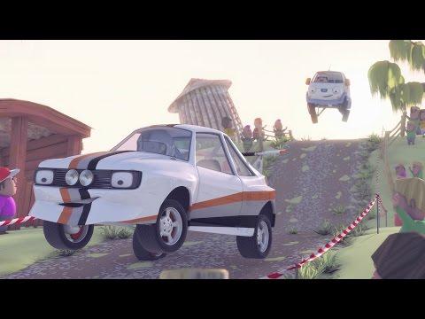 Олли Веселый грузовичок - Мультфильм про машинки - Серия 5 - Большая уборка (Full HD)
