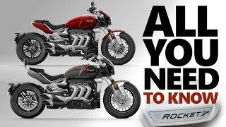 ALL NEW 2020 Triumph Rocket 3 [R and GT] - Everything you need to know