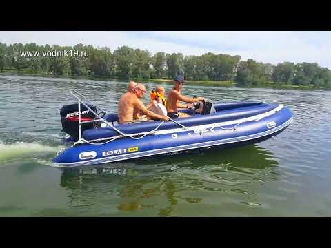 Лодка Солар 500 + Mercury 50 EO загрузка кормы │ тюнинг лодок солар │стихия воды абакан