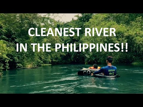 Cleanest River in the Philippines! Bugang River | Malumpati Cold Spring