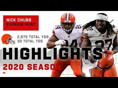 Nick Chubb & Kareem Hunt Full Season Highlights | NFL 2020