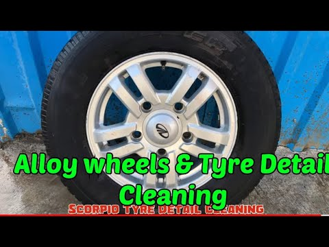Alloy wheels and Tyre Detail Cleaning