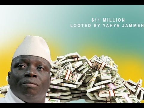 Ruthless Jammeh: Strongman stole millions of dollars in his final weeks in power