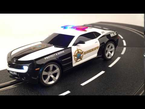 Camaro Sheriff Car – Carrera slot cars