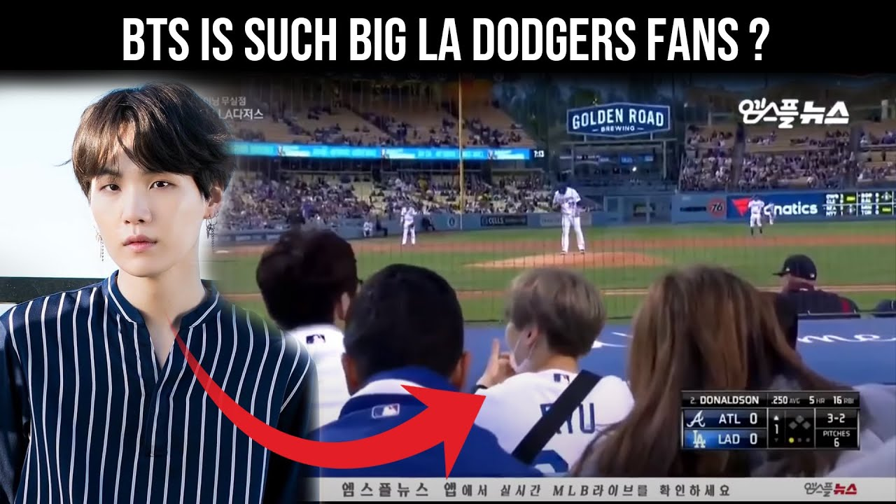 BTS (방탄소년단) BTS is such big LA Dodgers fans? See photos of the band at the game - Bangtan BOMB