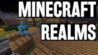 Minecraft: Realms #11 - Folk online & gigantisk iPhone! (Svenska)