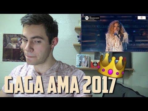 LADY GAGA - The Cure AMA 2017 Live REACTION!!