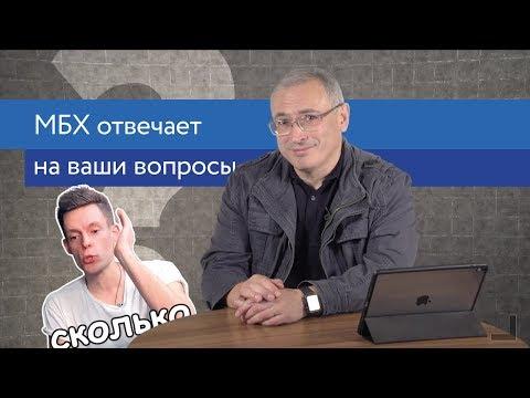 Ходорковский про свою