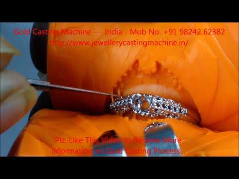 How to cut Rubber Mould Rubber Mould Cutting for Gold Casting or Silver casting or Lost wax cast