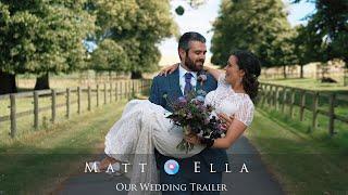 Wedding Videography at Barford Park - Matt & Ella Wedding Film