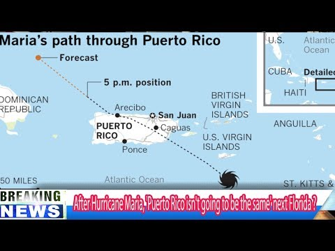 Hurricane Maria strikes US territory of Puerto Rico - Breaking Daily News