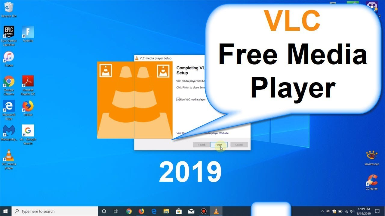 vlc player windows 10 free download