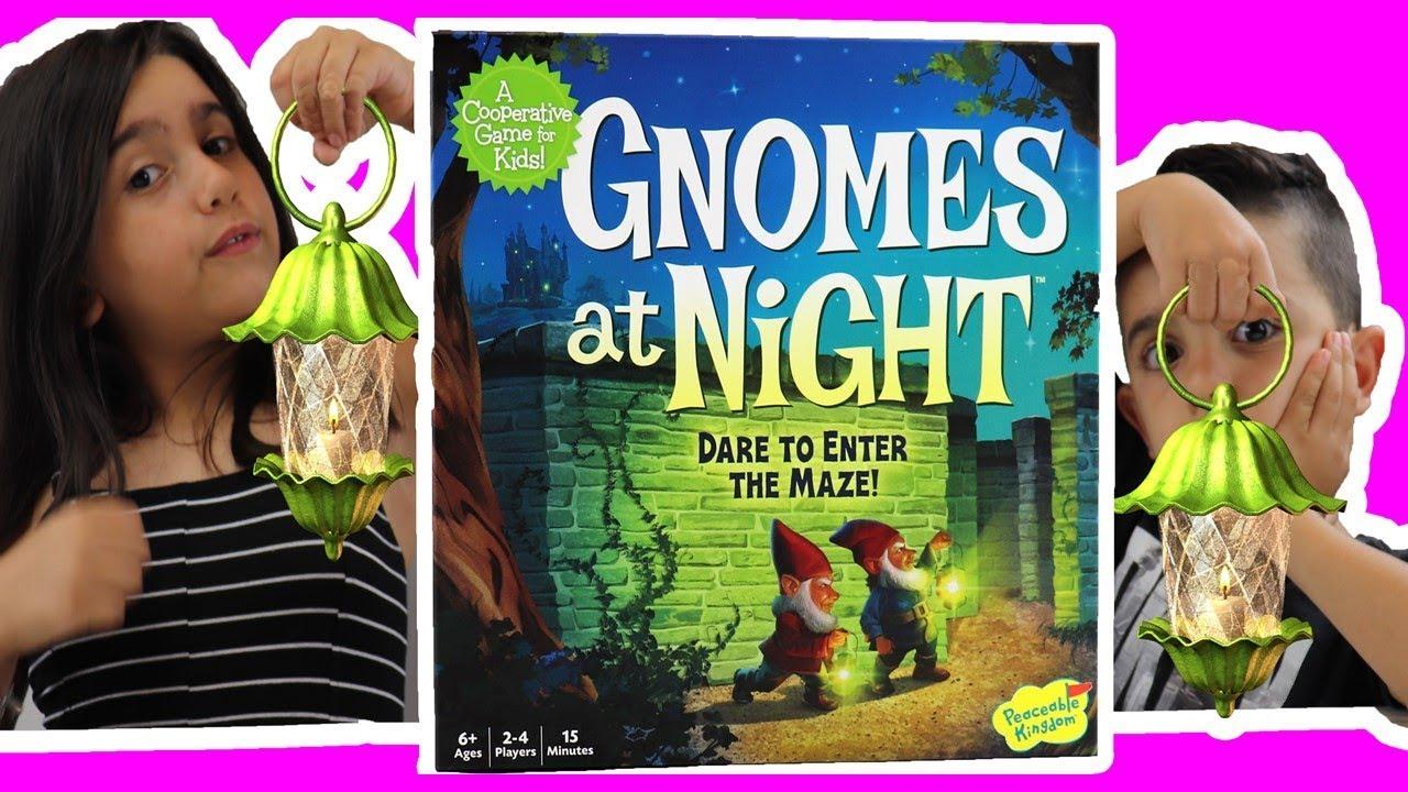 Gnomes at Night – Dad Battles Eva