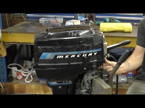Diagnosing a Mercury 110 9.8HP
