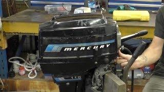 Diagnosing a Mercury 110 9.8HP - YouTube | Mercury 110 9 8 Hp Outboard Wiring Diagram |  | YouTube