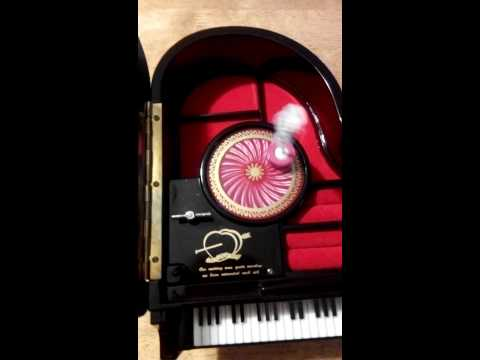 Music jewelry box playing too fast!!!