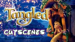 Disney Tangled All Cutscenes | Full Sketchbook Story Movie (Wii, PC)