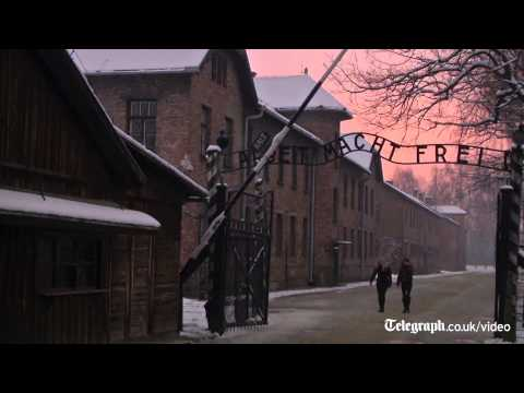 Timelapse: sunrise over Auschwitz - 70 years after liberation