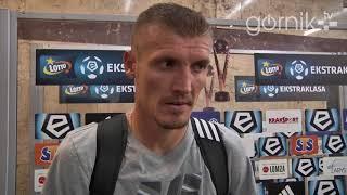 Górnik Zabrze 1-1 Arka Gdynia. Pomeczowa opinia Oleksandra Szeweluchina (13.08.2017)
