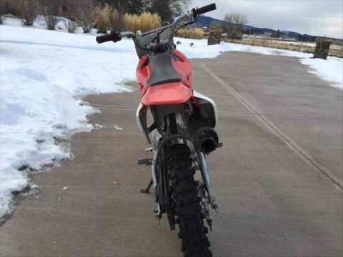 Honda 70cc Dirt Bike Honda Crf70 Motorcycle Youtube
