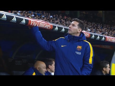 Funny Moments On The Bench ● Messi, Neymar, Co, Marcelo