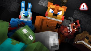 Monster School: Five Nights at Freddys 2 (FNAF 2) - Minecraft Animation [Reupload]