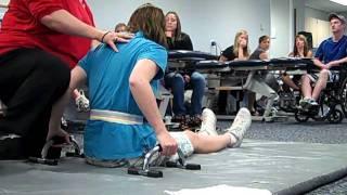 spinal cord injury  basic bed exercise,paraplegia.