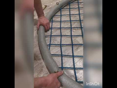 Качели паутина своими руками