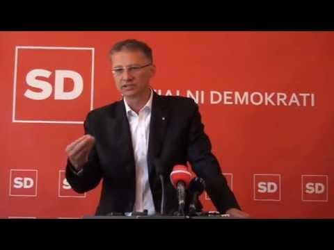Predsednik SD dr. Igor Lukšič o krivdi za padanje bonitetnih ocen Sloveniji