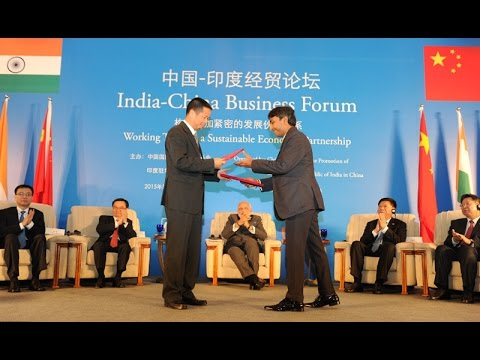 Business Agreements Signed Between India And China At India China