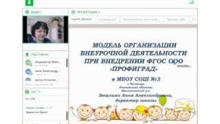 Бешлиян АА. Модель организации внеурочной деятельности «Профиград» (опыт работы)