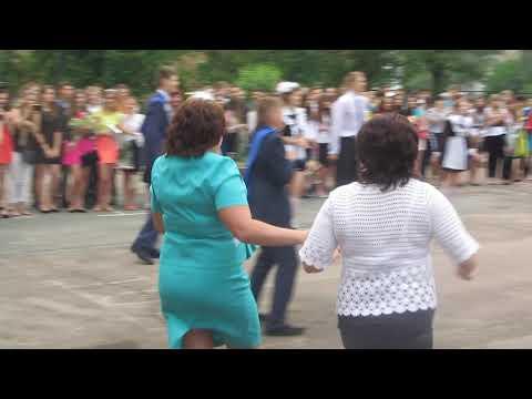 Видео: выпускной вальс и шикарный флешмоб г. Нежин гимназия 16