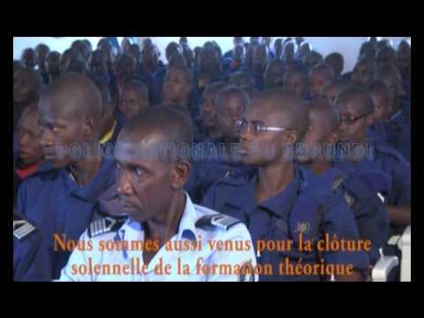 Burundi Police Nationale Burundi Retro 2015