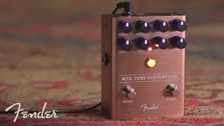 MTG Tube Distortion Demo | Effects Pedals | Fender