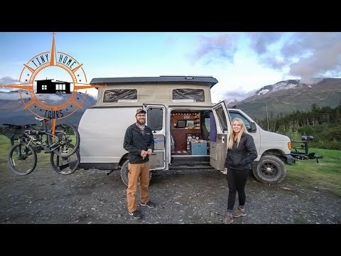 Ultimate DIY Camper Van ~ Pop Top, Bathroom & Shower Built In