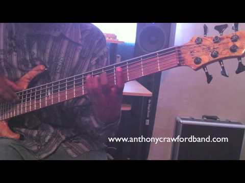 Anthony Crawford: Bass Tapping Instruction / Exercises / Technique PT3