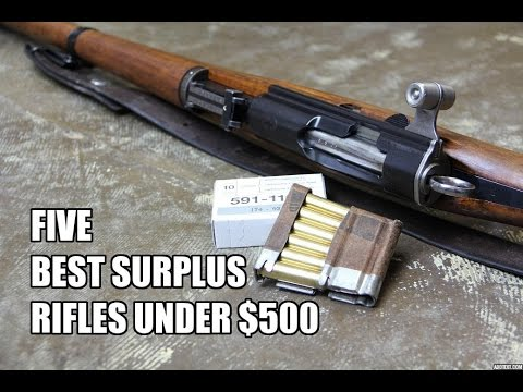 5 Best Surplus Rifles Under $500