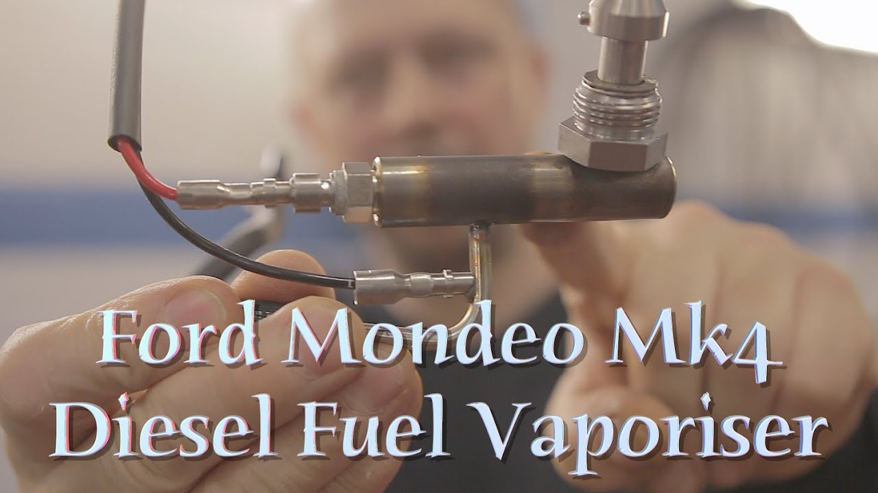 Ford Mondeo Mk4 Diesel Particulate Filter Fuel Vaporizer Closer Look Youtube